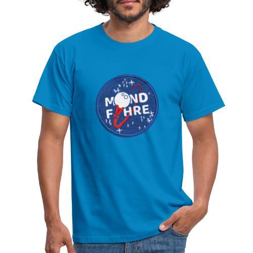 Mondfähre Patch - Männer T-Shirt