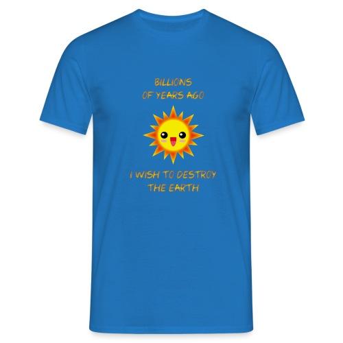 SOL KAWAII sin brillo exterior X - Camiseta hombre