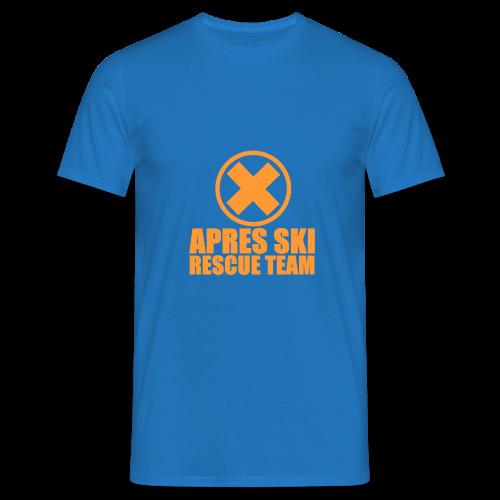 APRES SKI RESCUE TEAM - Men's T-Shirt