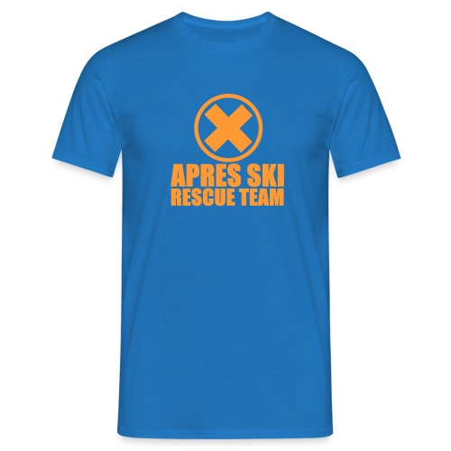 APRES SKI RESCUE TEAM - Mannen T-shirt