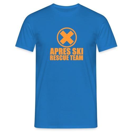 APRES SKI RESCUE TEAM - Männer T-Shirt