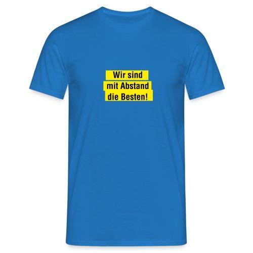 Abstand 02 - Männer T-Shirt