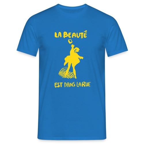 la_beaut├®_est_dans_la_ru - T-shirt herr
