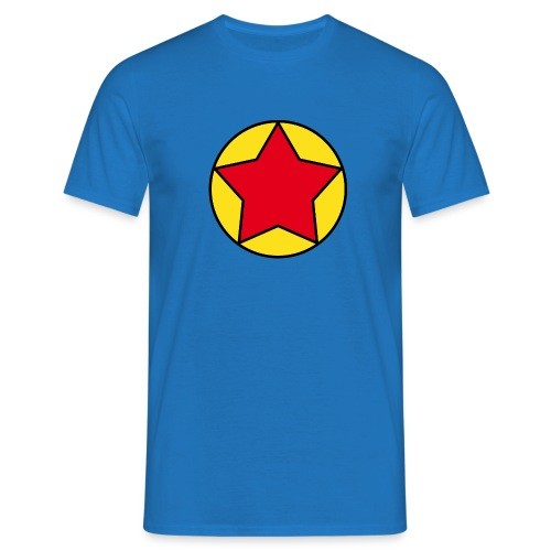 Escudo estrella 2 Pilaf - Camiseta hombre