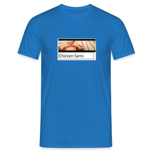 chicken sarni - Men's T-Shirt