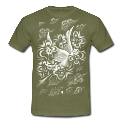 Crossing Clouds - Men's T-Shirt