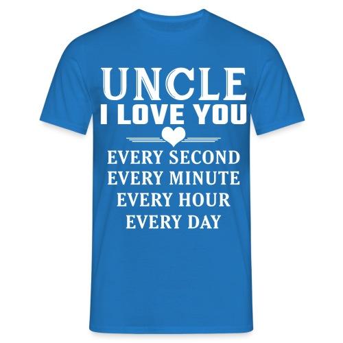 I Love You Uncle - Men's T-Shirt