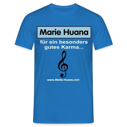 marie_huana_musik_08 - Männer T-Shirt