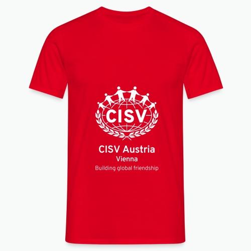 Vienna PORTRAIT BLK - Männer T-Shirt
