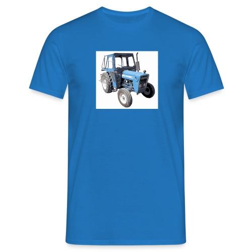 Mari's Traktor Stor Utgave - T-skjorte for menn