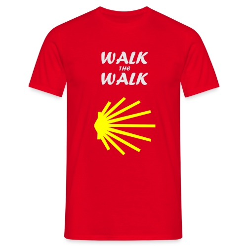 Walk the Walk - Camino de Santiago - Herre-T-shirt