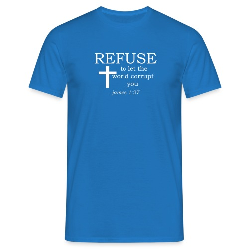'REFUSE' t-shirt (white) - Men's T-Shirt