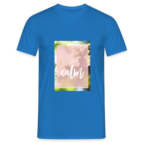 Calm - Männer T-Shirt