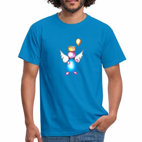 Mettalic Angel geluk - Mannen T-shirt
