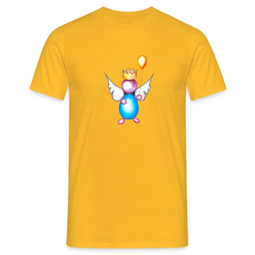 Mettalic Angel happiness - T-shirt Homme