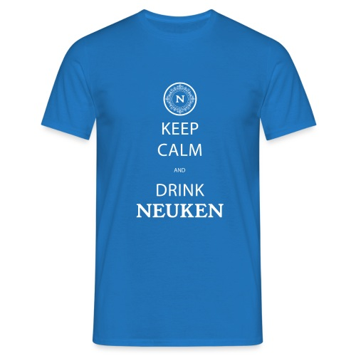 keep calm drink neuken - Mannen T-shirt