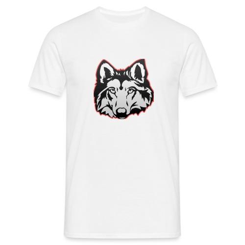 Wolfie (Red) - Men's T-Shirt