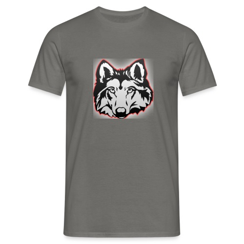 Wolfie (Red) - Men's T-Shirt