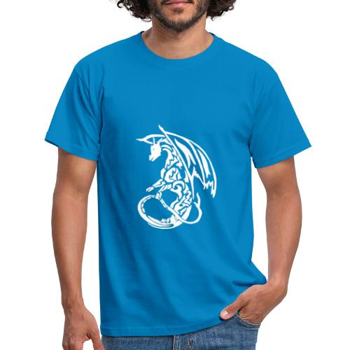 T-shirt Eaven Tribal - Dragon Fonce Homme - T-shirt Homme