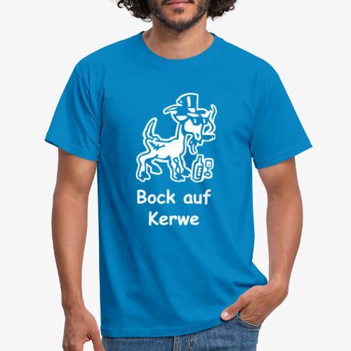 Bock auf Kerwe - Männer T-Shirt