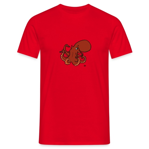 Giant Pacific Octopus - Men's T-Shirt