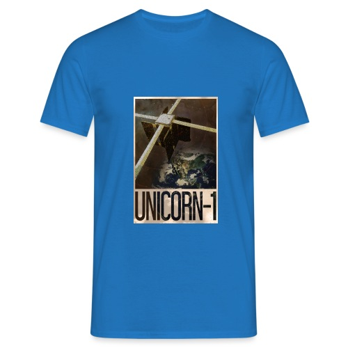 Unicorn 1 Soviet Style Poster - Men's T-Shirt