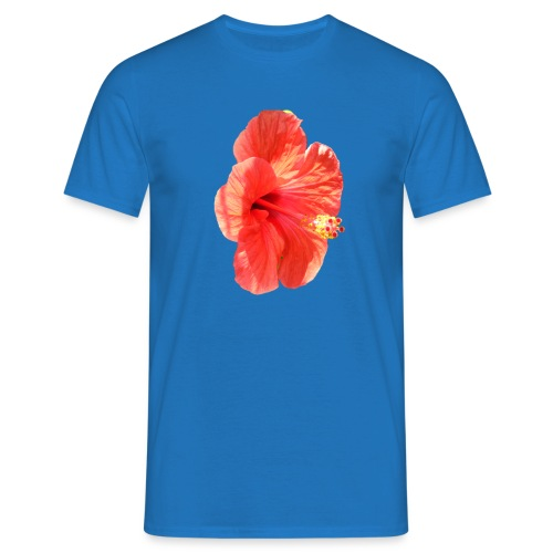A red flower - Men's T-Shirt