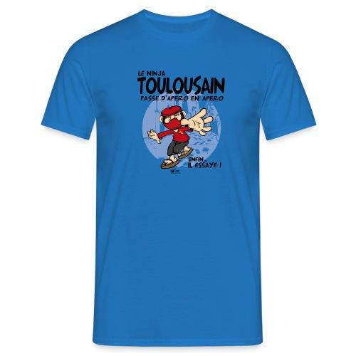 ninja toulousain png - T-shirt Homme
