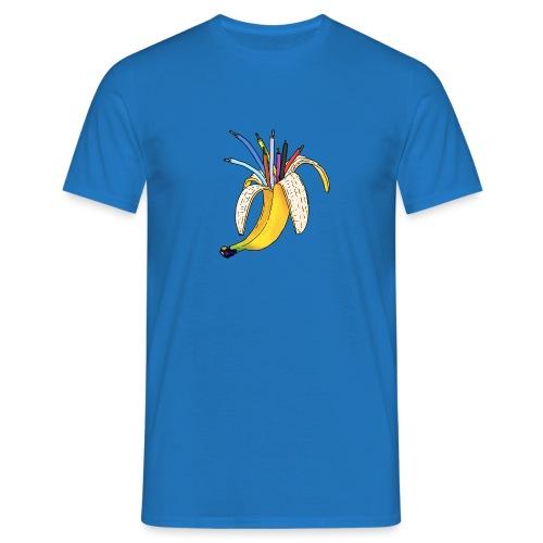 BANAAN 08 - Mannen T-shirt