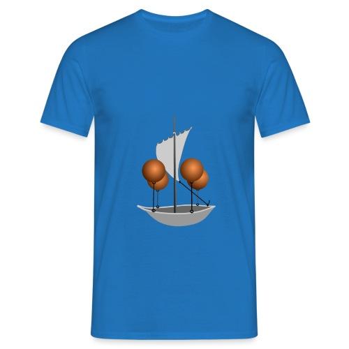Luftschiff Utopie - Männer T-Shirt