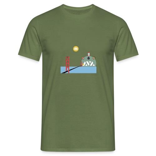 Avalanche Good Bridging to walhalla - Mannen T-shirt