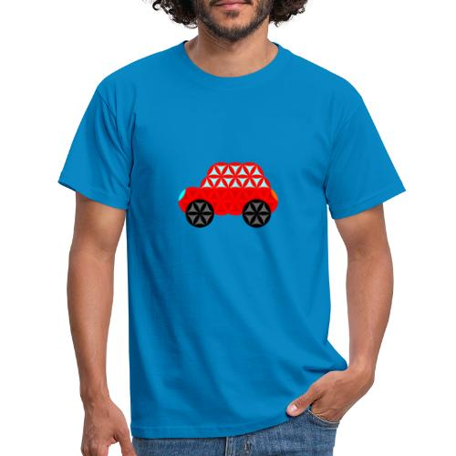 The Car Of Life - M01, Sacred Shapes, Red/R01. - Men's T-Shirt