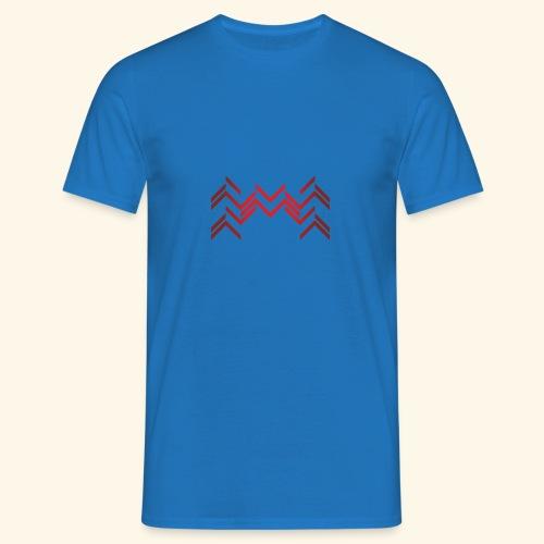 Lineas burdeos - Camiseta hombre