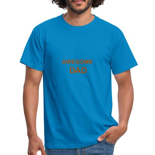 awesome dad 1 - Men's T-Shirt