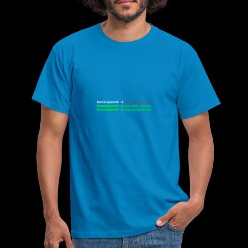 sudo reset - Männer T-Shirt