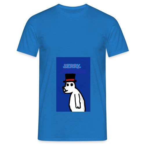 Jerry with tophat - Men's T-Shirt