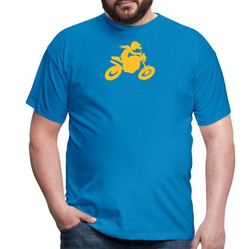 Biker solo - Männer T-Shirt