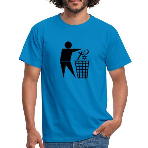 Anti Religion # 1 - Men's T-Shirt