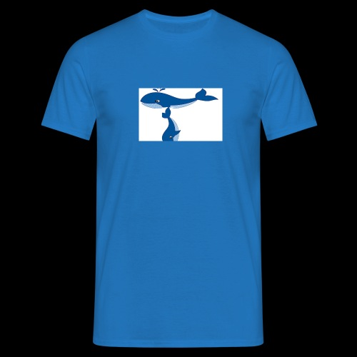 whale t - Men's T-Shirt