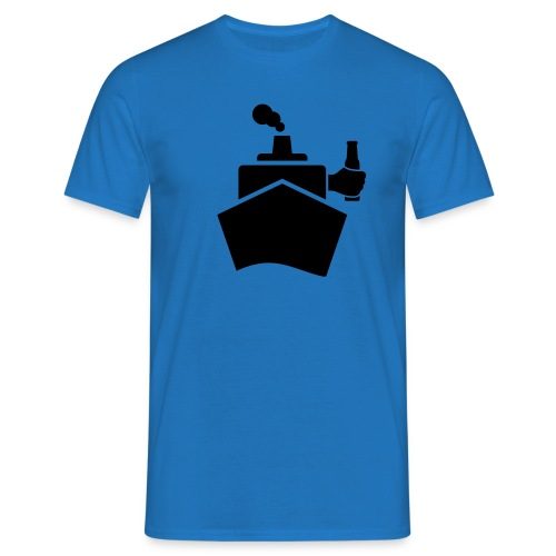 King of the boat - Männer T-Shirt