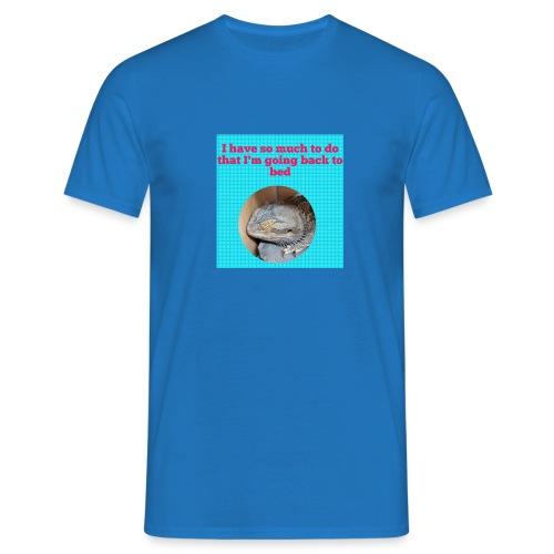 The sleeping dragon - Men's T-Shirt