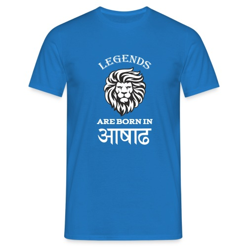 Asar, the third month of Nepali Calender - Men's T-Shirt