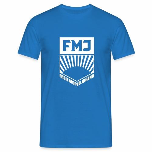 Freie Moped Jugend FDJ Parodie (1c) - Men's T-Shirt