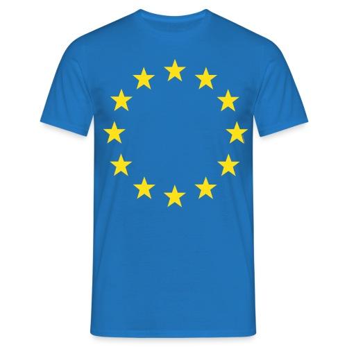 EU stars only 4 RoyalBlue - Men's T-Shirt