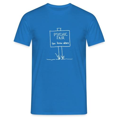 psychic sign white gif - Men's T-Shirt