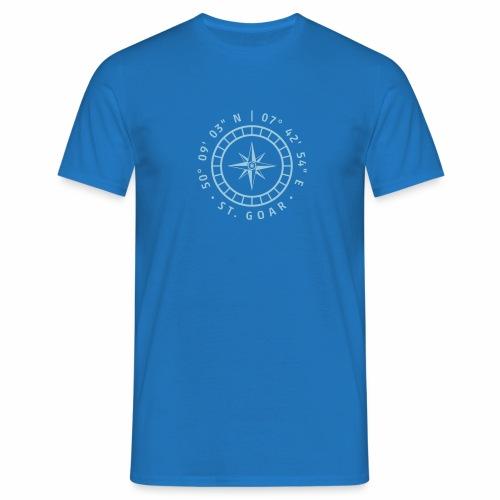 Kompass St. Goar - Männer T-Shirt