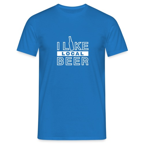 I Like Local Beer (swity) - Männer T-Shirt