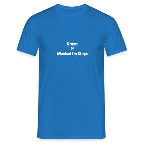 shirt achterkant grows - Mannen T-shirt