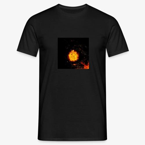 FIRE BEAST - Mannen T-shirt