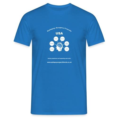 Epilepsy Surgery Friends USA - Men's T-Shirt